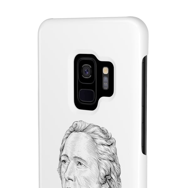 Alexander Hamilton Case Mate Slim Phone Case - Biblioriot