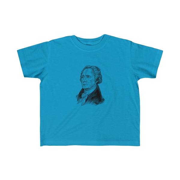 Alexander Hamilton Toddler and Young Kids T-Shirt - Biblioriot