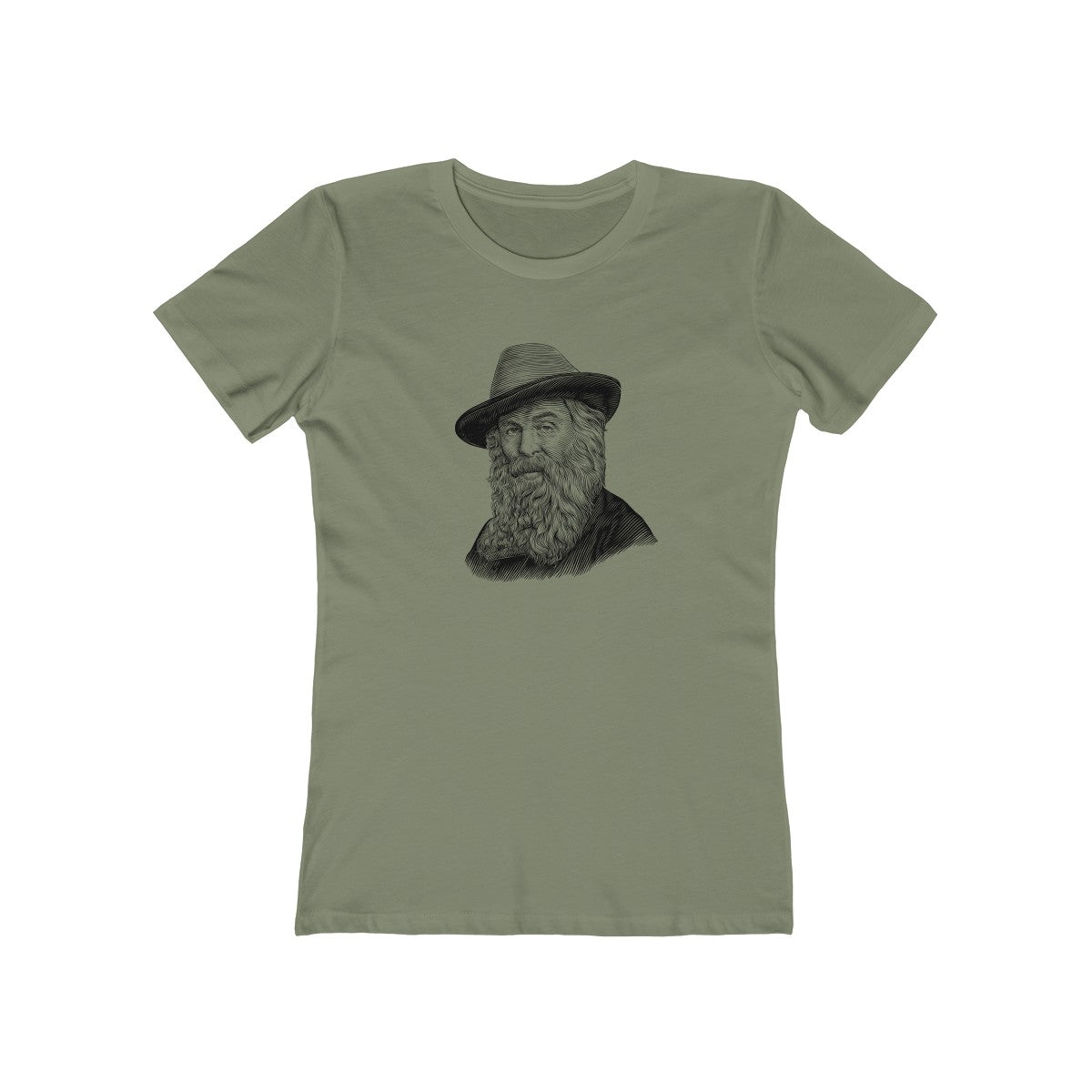 Walt Whitman Women's T-Shirt - Biblioriot