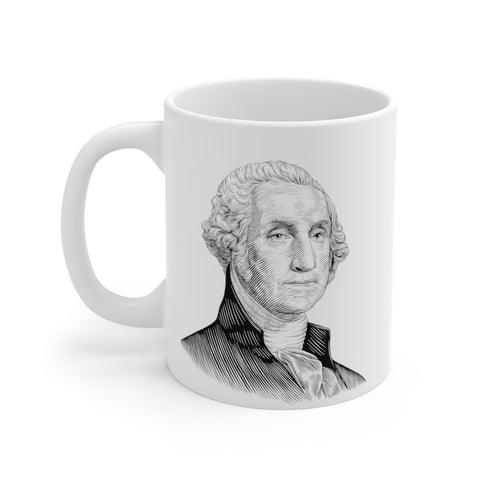 George Washington Ceramic Mug - Biblioriot