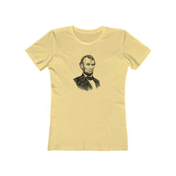 Abraham Lincoln Women's T-Shirt - Biblioriot