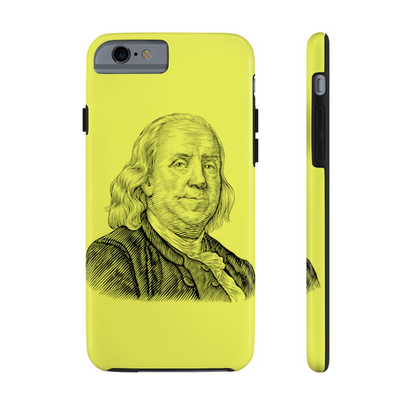 Benjamin Franklin Case Mate Tough Phone Case - Biblioriot