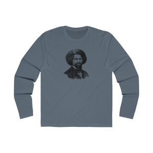 Frederick Douglass Long Sleeve Crew T-Shirt - Biblioriot