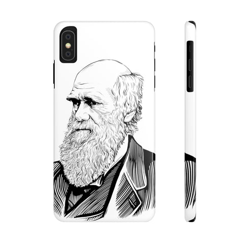 Charles Darwin Case Mate Slim Phone Case - Biblioriot