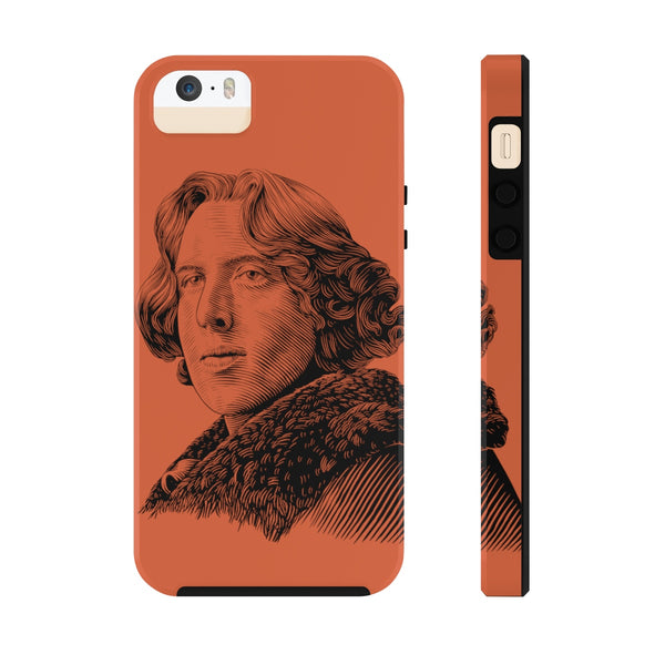 Oscar Wilde Case Mate Tough Phone Case (Dorian Red) - Biblioriot