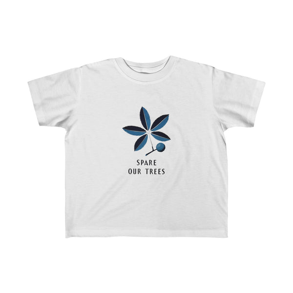 Spare Our Trees Toddler and Young Kids T-Shirt -- WPA - Biblioriot
