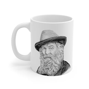Walt Whitman Ceramic Mug - Biblioriot