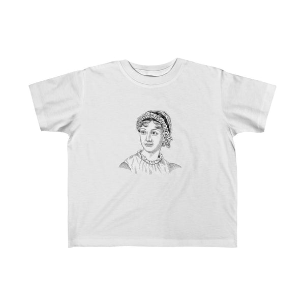 Jane Austen Toddler and Young Kids T-Shirt - Biblioriot