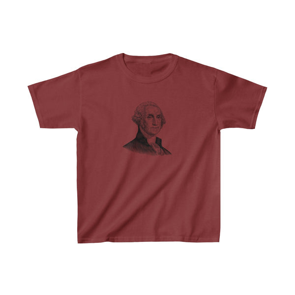 George Washington Kids T-Shirt - Biblioriot