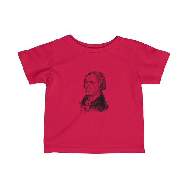 Alexander Hamilton Baby and Toddler T-Shirt - Biblioriot