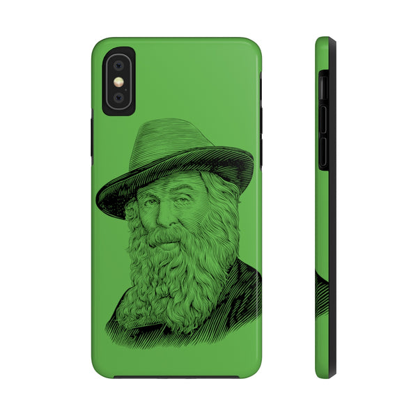 Walt Whitman Case Mate Tough Phone Case - Biblioriot