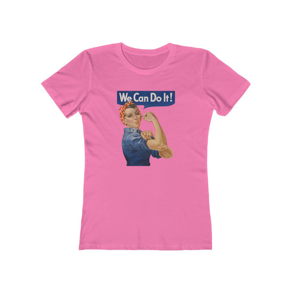 Rosie the Riveter Women's T-Shirt -- We Can Do It! - Biblioriot