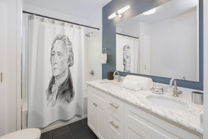 Alexander Hamilton Shower Curtain - Biblioriot