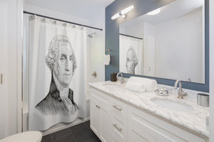 George Washington Shower Curtain - Biblioriot
