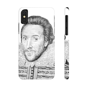 William Shakespeare Case Mate Slim Phone Case - Biblioriot