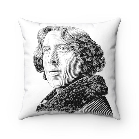 Oscar Wilde Square Pillow Case - Biblioriot
