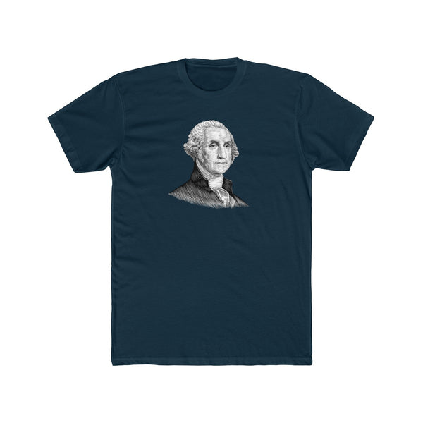 George Washington Cotton Crew T-Shirt - Biblioriot