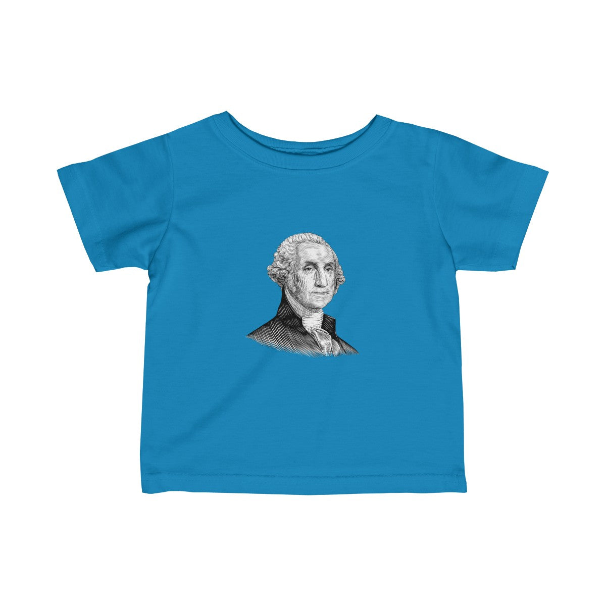George Washington Baby and Toddler T-Shirt - Biblioriot