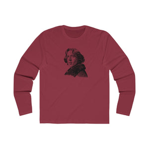 Oscar Wilde Long Sleeve Crew T-Shirt - Biblioriot