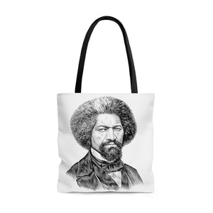 Frederick Douglass Poly Tote Bag - Biblioriot