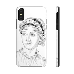 Jane Austen Case Mate Tough Phone Case - Biblioriot
