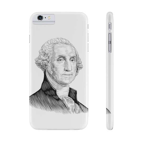 George Washington Case Mate Slim Phone Case - Biblioriot