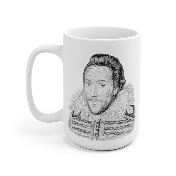 William Shakespeare Ceramic Mug - Biblioriot
