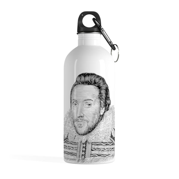William Shakespeare Stainless Steel Water Bottle - Biblioriot