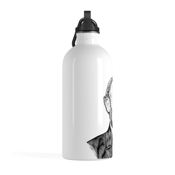 Abraham Lincoln Stainless Steel Water Bottle - Biblioriot