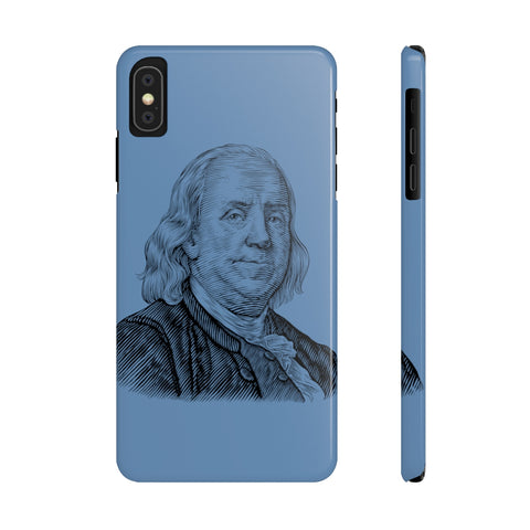 Benjamin Franklin Case Mate Slim Phone Case - Biblioriot