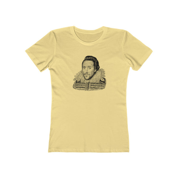William Shakespeare Women's T-Shirt - Biblioriot