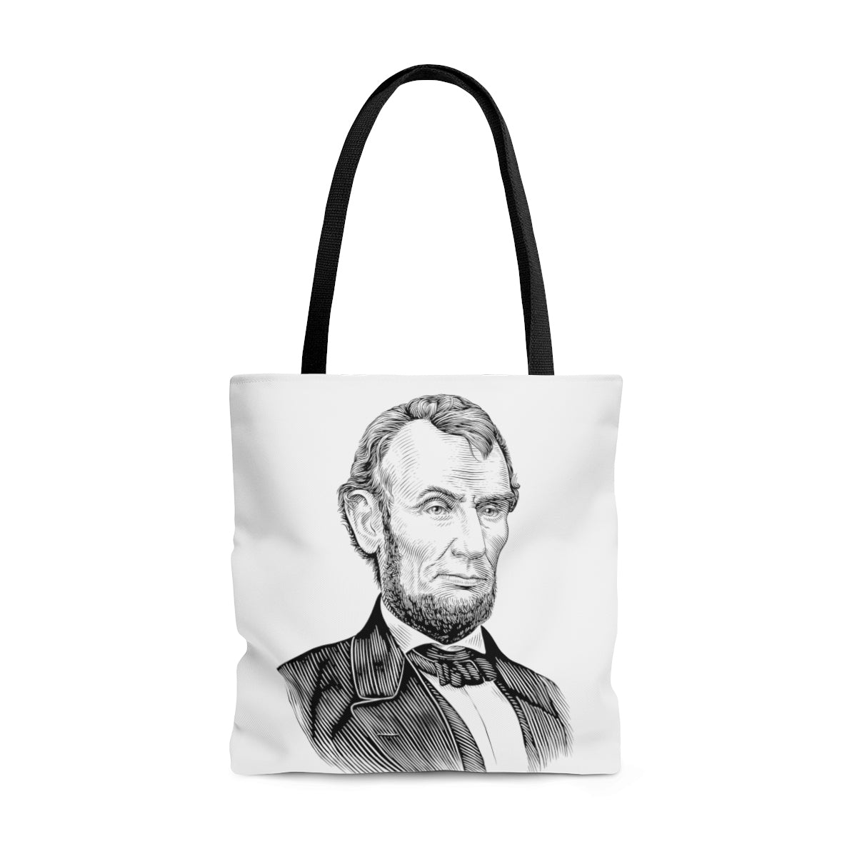 Abraham Lincoln Poly Tote Bag - Biblioriot