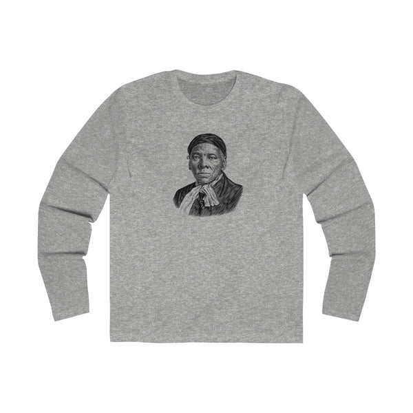 Harriet Tubman Long Sleeve Crew T-Shirt - Biblioriot