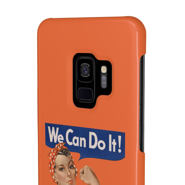 Rosie the Riveter Case Mate Slim Phone Case - Biblioriot