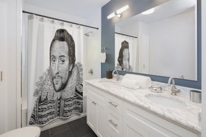 William Shakespeare Shower Curtain - Biblioriot