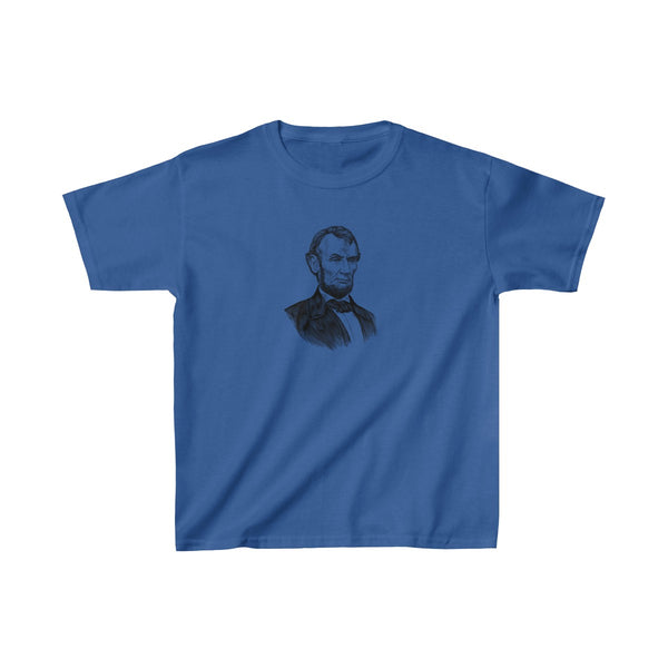 Abraham Lincoln Kids T-Shirt - Biblioriot
