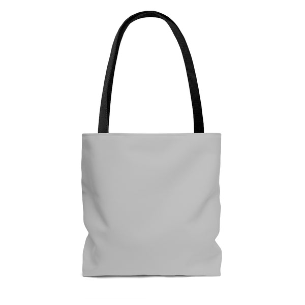 All People Are Created Equal Poly Tote Bag (Red, White & Blue) - Biblioriot
