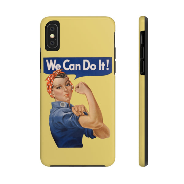 Rosie the Riveter Case Mate Tough Phone Case -- We Can Do It! - Biblioriot
