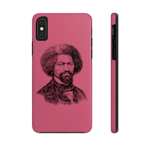 Frederick Douglass Case Mate Tough Phone Case (Burgundy Light) - Biblioriot