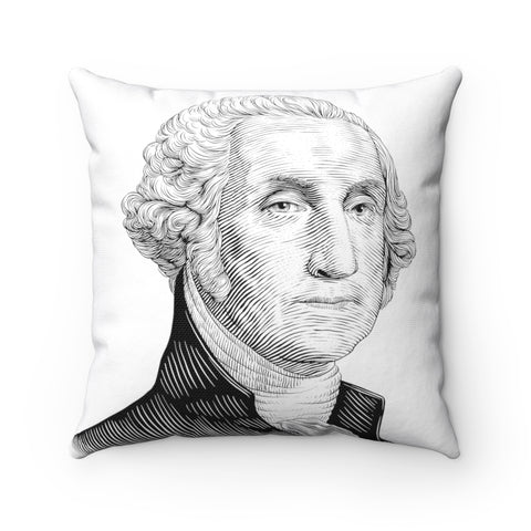 George Washington Square Pillow - Biblioriot