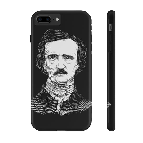 Edgar Allan Poe Case Mate Tough Phone Case - Biblioriot