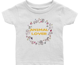 Animal Lover Infant Tee