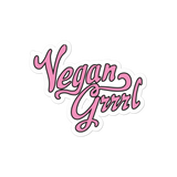 Vegan Grrrl sticker