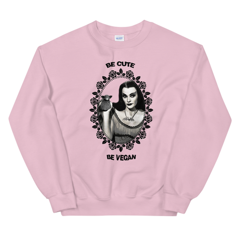 ladies pink sweater