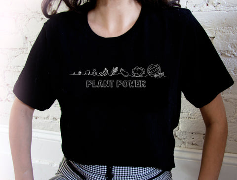 Plant Power Women's Tee