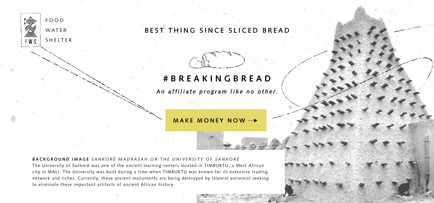 Make money with the #breakingbread program