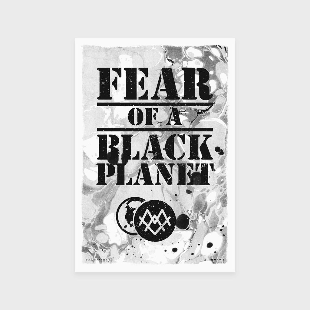 Fear of a Black Planet Fine Art Print