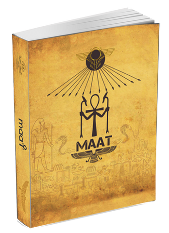 Book of MA'AT (1st Edition Hard Cover)