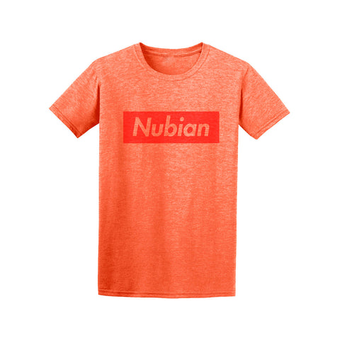 Nubian Crew - Heather Orange -