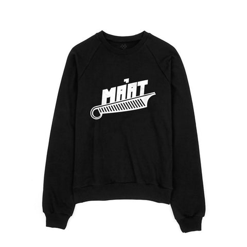 MA'AT Unisex Fleece Raglan -